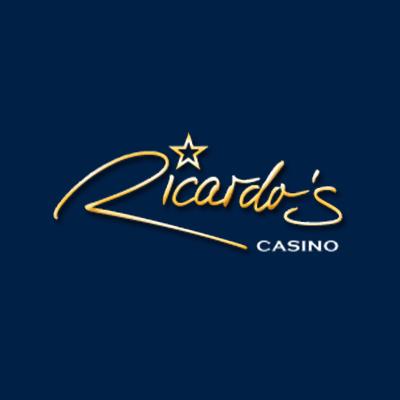 Ricardo's casino logo blue